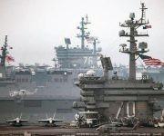 Donald Trump ha aumentado la presencia militar de Estados Unidos en Medio Oriente, el presupuesto del Ejército y constantemente amenaza a Corea del Norte. Foto: Getty Images.
