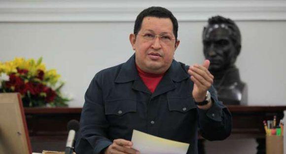 Chàvez en su última intervención pública, el 8 de diciembre de 2012. Foto: Archivo de Cubadebate