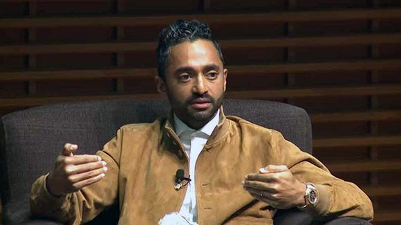 Chamath Palihapitiya. Foto: Stanford Graduate School of Business/ Youtube.