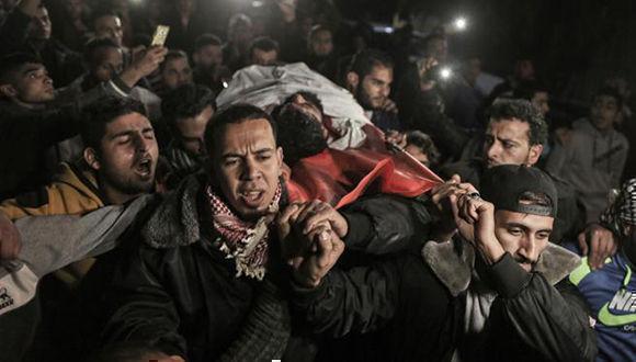 Muere un palestino herido por tropas israelíes en Gaza