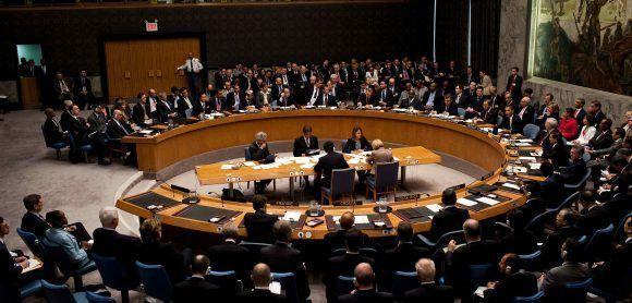 Consejo de Seguridad de la ONU. Foto tomada de El Orden Mundial (Archivo).