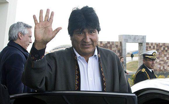 Evo Morales, presidente de Bolivia. Foto: AP.