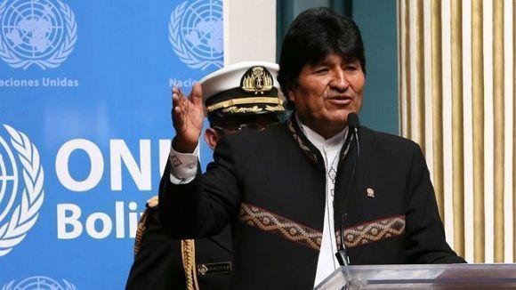 Tribunal Constitucional Plurinacional (TCP) que autorizó la repostulación de autoridades nacionales, entre ellas la de Evo Morales. Foto: bbc