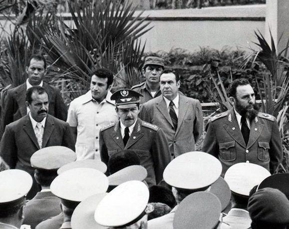 Inuaguración del Memorial Granma en el Museo de la Revolución. Foto: Sitio Fidel Solado de las Ideas.