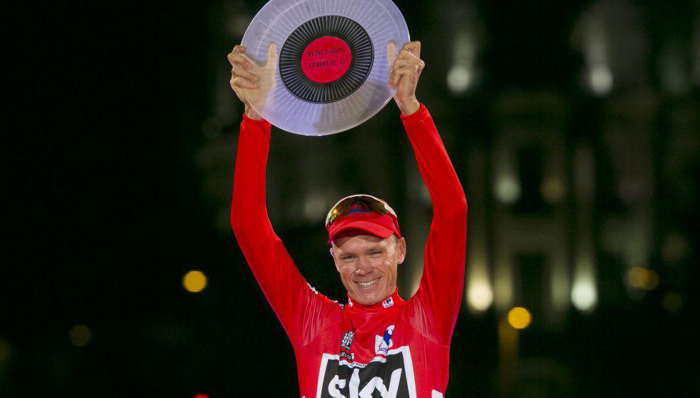Chris Froome, ganador de la 18 etapa de La Vuelta a España. Foto: El País