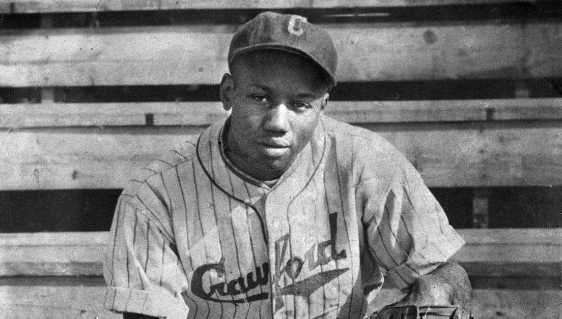 """""""Josh"""" Gibson. Foto: Baseball Hall of Fame."""