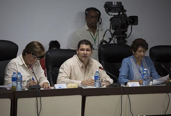 Juan Antonio Quintanilla Roma, jefe del departamento de asuntos socio-humanitarios del MINREX. Foto: Irene Pérez