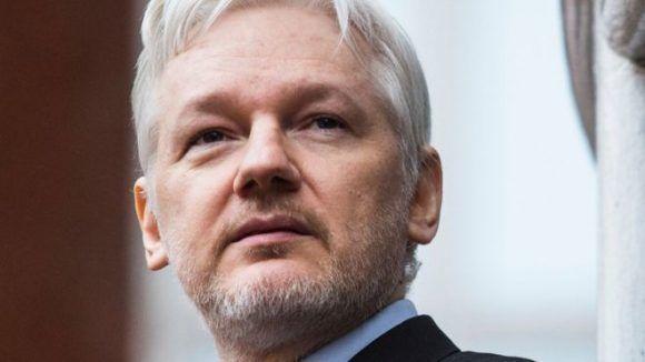 Julian Assange. Foto tomada de BBC.