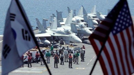 Empieza maniobra militar sin precedentes entre Corea del Sur y EE.UU.