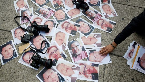 47 periodistas asesinados en 2017 en América Latina