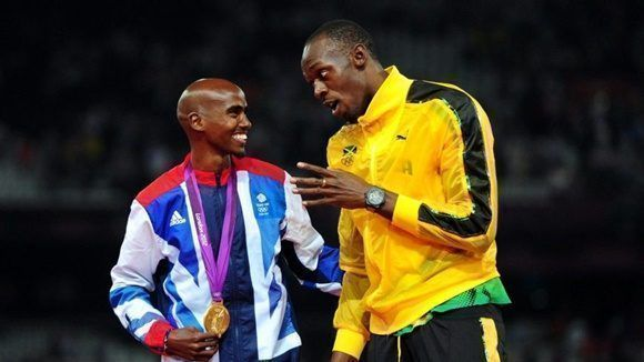Mo Farah y Usain Bolt fueron las figuras más seguidas en Londres 2017.