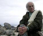 El poeta chileno Nicanor Parra cuando tenía 94 años. Foto: Archivo.