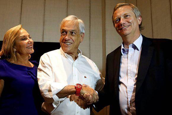 Piñera y Kast la derecha y el fascismo hermanados una vez más. Foto: Reuters .