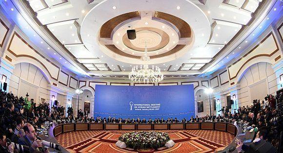 Sede de las conferencias sobre Siria en Astaná. Foto: AsiaNews.