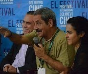 Panel de TV Serrana en el Festival Internacional del Nuevo Cine Latinamericano. Foto: Habana Film Festival.