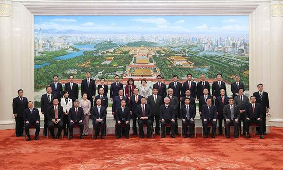 Presidente chino Xi Jinping reclama mejorar intercambios interpartidarios con Japón. Foto: @XHespanol/ Twitter