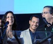Premio Especial del Jurado de Animación, a Los Dos Príncipes, de Cuba, de los realizadores, Yemelí Cruz y Adanoe Lima, durante la entrega de los Premios correspondientes al 39 Festival Internacional del Nuevo Cine Latinoamericano, efectuado en el cine Charles Chaplin.  Foto: Omara García/ ACN.