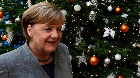 La canciller de Alemania, Angela Merkel. Foto: AFP.