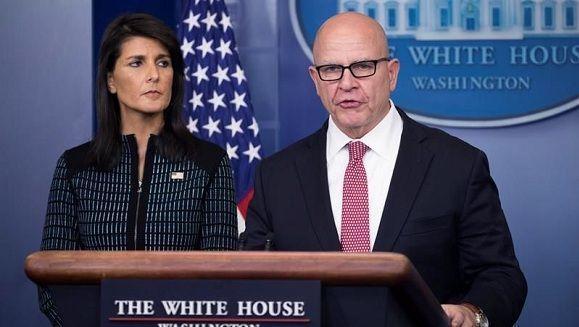 El asesor de Seguridad Nacional de la Casa Blanca, H.R. McMaster. Foto: EFE.