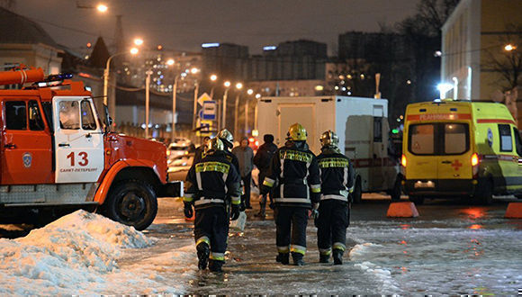 Como resultado de la explosión, trece personas resultaron heridas. Foto: Alexander Galperin/RIA Novosti