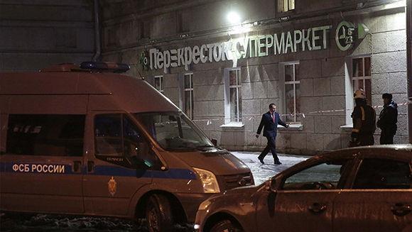 En el momento de la explosión en el supermercado se encontraban más de 70 personas. Foto: Alexander Galperin/RIA Novosti