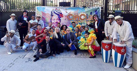 CirCuba emprenderá gira por Italia durante diciembre y enero. Foto: EmbaCuba Italia / Twitter