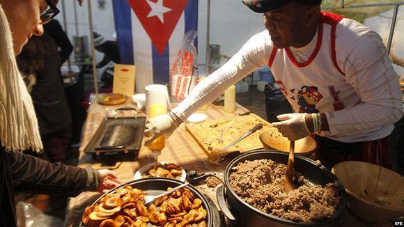 Platos típicamente cubanos no han faltado nunca en la mesa de cada familia cubana. Foto: EFE.