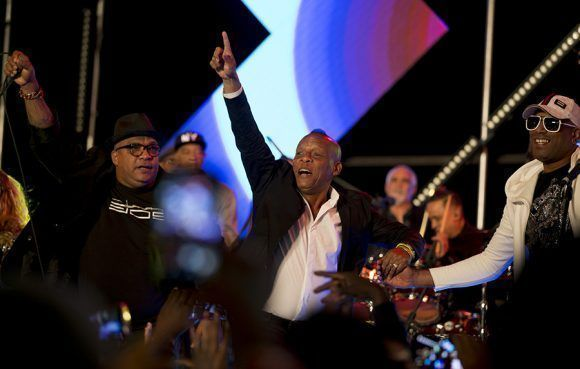 Megaconcierto de Revé a Van Van, dos leyendas. Foto: Ismael Francisco/ Cubadebate.