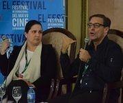 El productor norteamericano Stephen Raphael, fundador de la compañía Required Viewing, ofreció una conferencia en el marco del Festival de Cine de La Habana. Foto: Haban Film Festival.