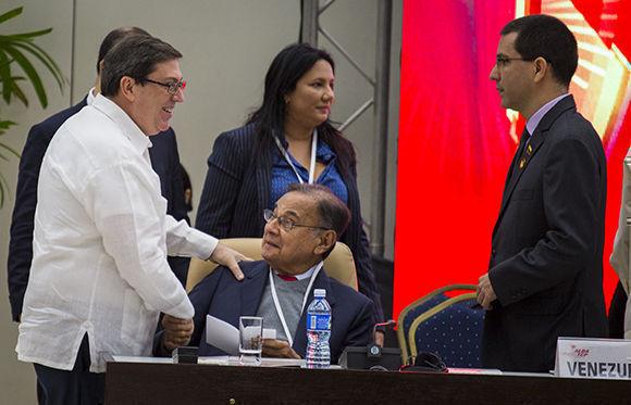 Sesiona el XVI Consejo Político del ALBA-TCP en La Habana. Foto: Irene Pérez/ Cubadebate.
