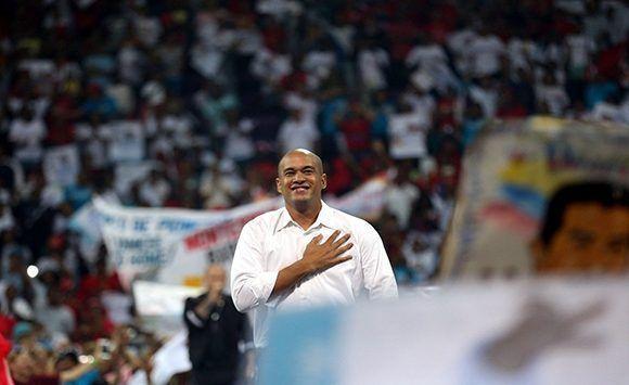 Héctor Ródriguez, presidente del PSUV en el estado de Miranda. Foto: Correo del Orinoco.
