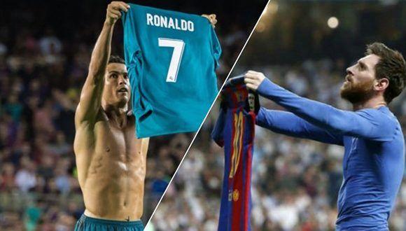 Cristiano y Messi, celebraciones recientes.
