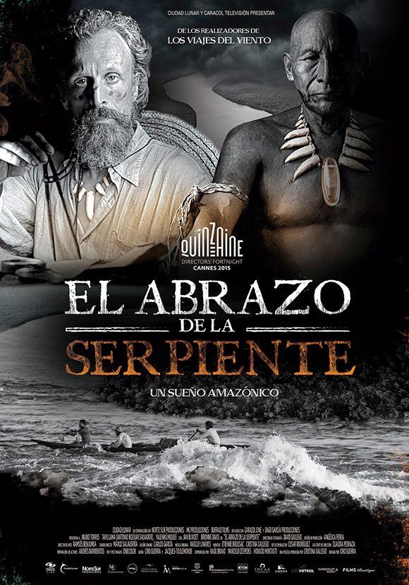 """""""El abrazo de la serpeinte"""", uno de los mejores filmes exhibidos en Cuba durante el 2017, según la Asociación Cubana de la Prensa Cinematográfica."""