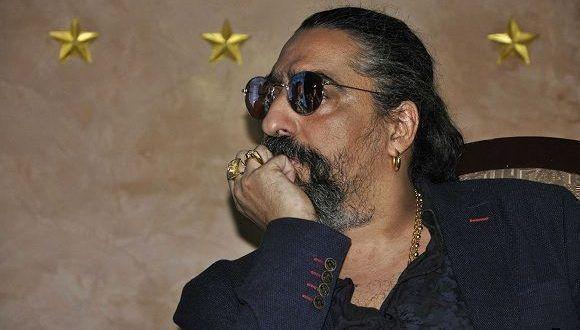 """Diego El Cigala llegó a La Habana para estrenar su documental """"Indestructible. El alma de la salsa"""" en el 39 Festival Internacional del Nuevo Cine Latinoamericano. Foto: Raúl Medina/Cubahora"""