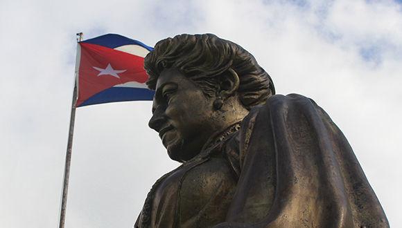 Escultura de Marta Abreu. Foto: Fidel Alejandro Conde Ravassa/ Horizontes