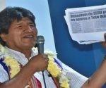 Evo Morales resaltó la respuesta masiva del pueblo en las elecciones judiciales efectuadas este domingo en todo el país. Foto: Telesur