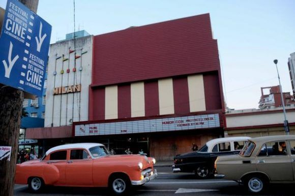 Cine Rampa, una de las sedes del 39 Festival Internacional del Nuevo Cine Latinoamericano, del 8 al 17 de diciembre  en La Habana. Foto: Omara García/ ACN.