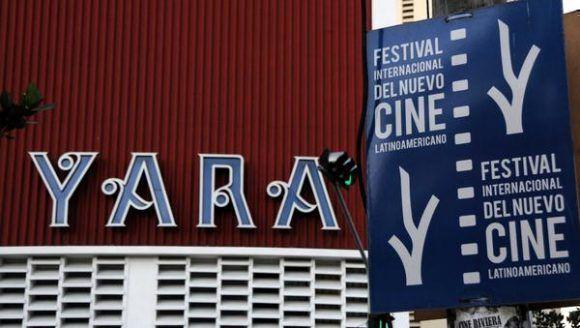 Cine Yara, una de las sedes del 39 Festival Internacional del Nuevo Cine Latinoamericano, del 8 al 17 de diciembre  en La Habana. Foto: Omara García/ ACN.
