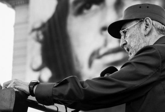 """""""A la luz del Che"""" (2010). Foto: Roberto Chile."""