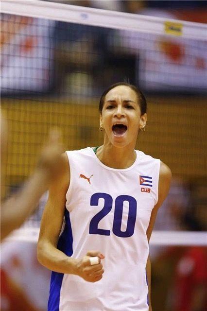 Heidy Rodríguez es puro ímpetu sobre la cancha.