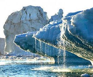 El 79% del hielo sobre el Océano Ártico es delgado y de solo un año de antigüedad. Foto: Instituto Meteorológico Danés