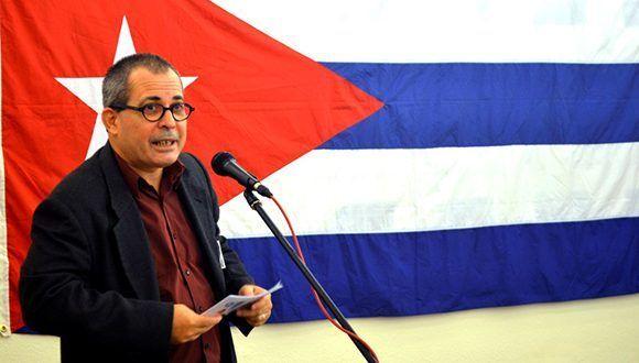 Juan Antonio Fernández Palacios, embajador de Cuba en Austria. Foto: Embacuba Austria.