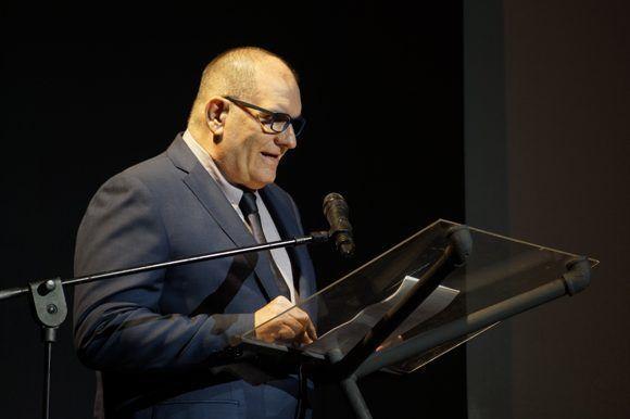 Iván Giroud, presidente del Festival, dijo que a un paso de arribar a los 40 años, esta edición se presenta como un desafío que sirve de pausa e impulso para trazar nuevos caminos. Foto: Leysi Rubio/ Cubadebate