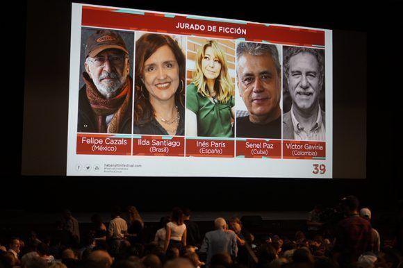 La jornada inaugural del 39 Festival Internacional de Cine Latinoamericano se efectuó en el capitalino Teatro Karl Marx. Foto: Leysi Rubio/ Cubadebate