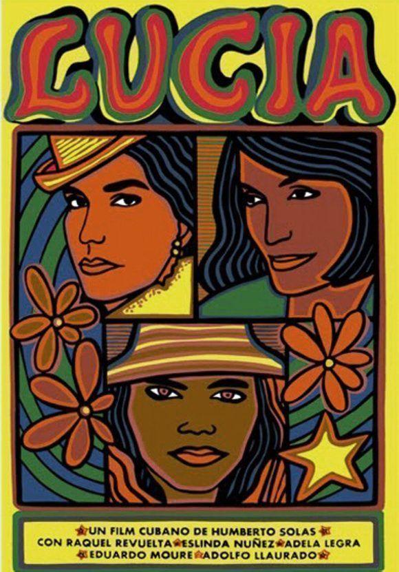 """Cartel del filme """"Lucía"""" (1968)."""