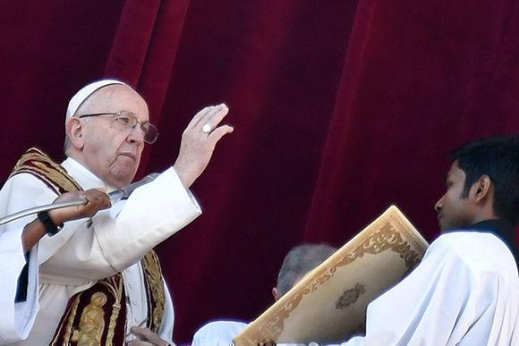 """Mensaje de Navidad: El Papa pide """"paz para Jerusalén y toda la Tierra Santa"""""""