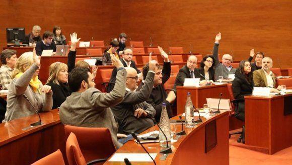 En la votación respecto al recurso, 11 diputados votaron a favor, siete en contra y uno se abstuvo.   Foto: EFE