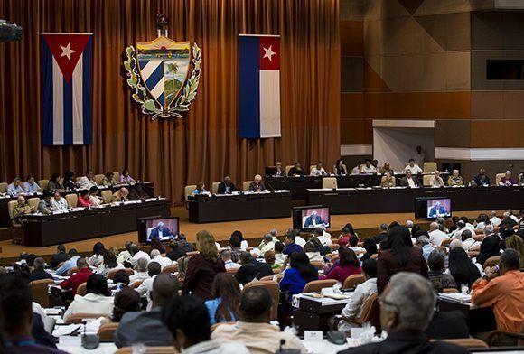 Décima sesión de la Octava Legislatura de la Asamblea Nacional del Poder Pupular. Foto: Irene Pérez/ Cubadebate.