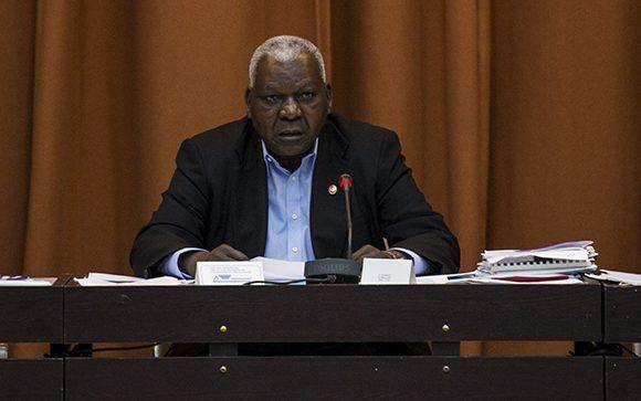 Esteban Lazo, presidente del Parlamento cubano. Foto: Irene Pérez/ Cubadebate.
