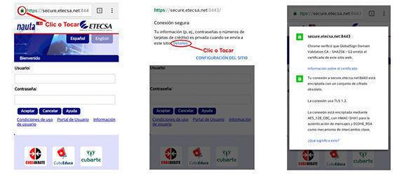 Existen personas que crean una red WiFi falsa y suplantan la de Etecsa. Imagen: 5 de Septiembre/ Cubadebate.